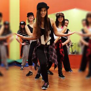 Centre de conditionnement physique Espace pleine Forme Alexandra Yerly hip hop adultes