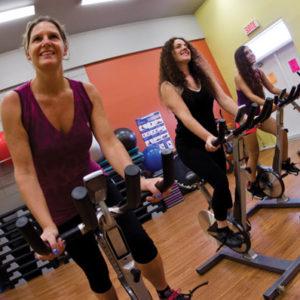 Centre de conditionnement physique Espace pleine Forme Alexandra Yerly spinning