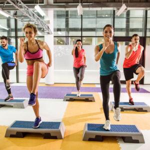 Centre de conditionnement physique Espace pleine Forme Alexandra Yerly step tonus