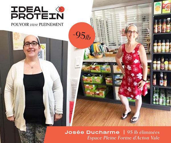Josée Ducharme 95lbs perdues